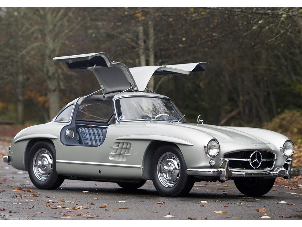 Mercedes benz 300sl gullwing 1955 de aluminio for Mercedes benz gullwing 1955