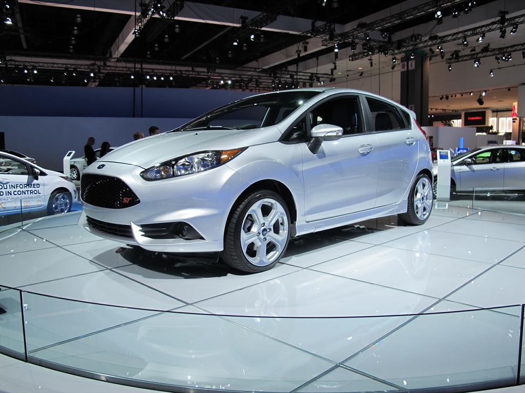 Ford Fiesta ST 2014 en el Salón de Los Ángeles