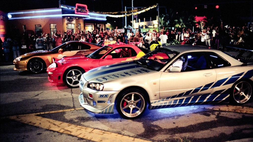 2 Fast 2 Furious Cars