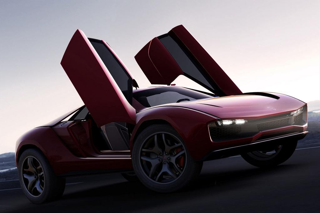 Italdesign Giugiaro Parkour Concepts