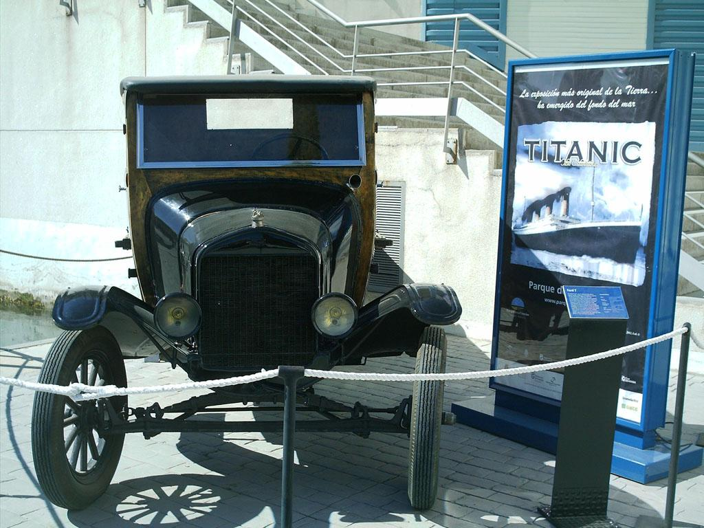 Los autos que el Titanic se llevó.