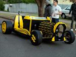 Un Hot Rod de Lego a escala real que funciona