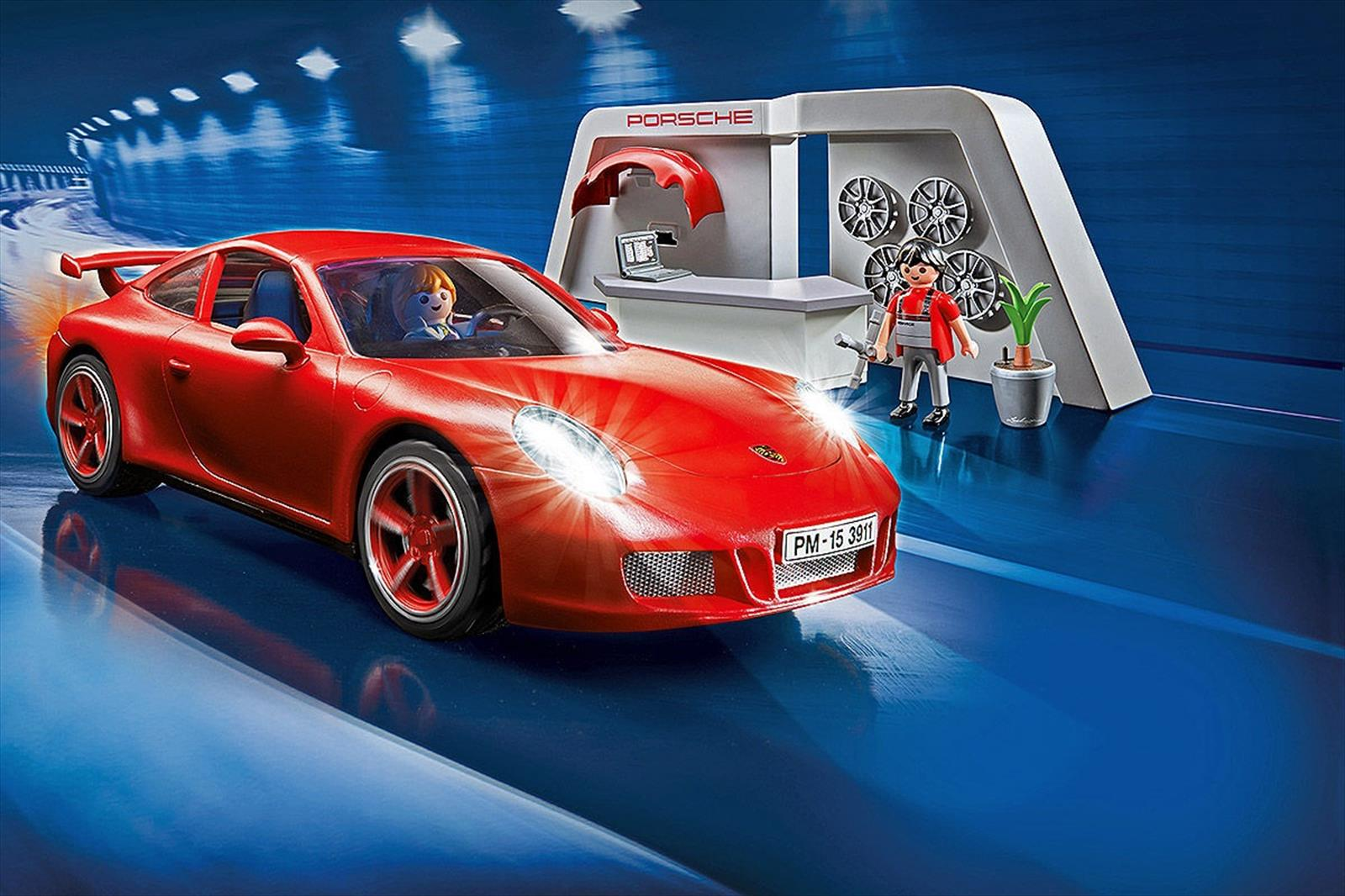 un porsche 911 carrera s al estilo de playmobil. Black Bedroom Furniture Sets. Home Design Ideas