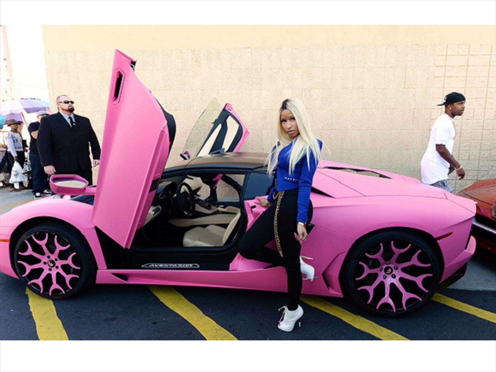 Lamborghini Aventador rosado de Nicki Minaj - Autocosmos.com