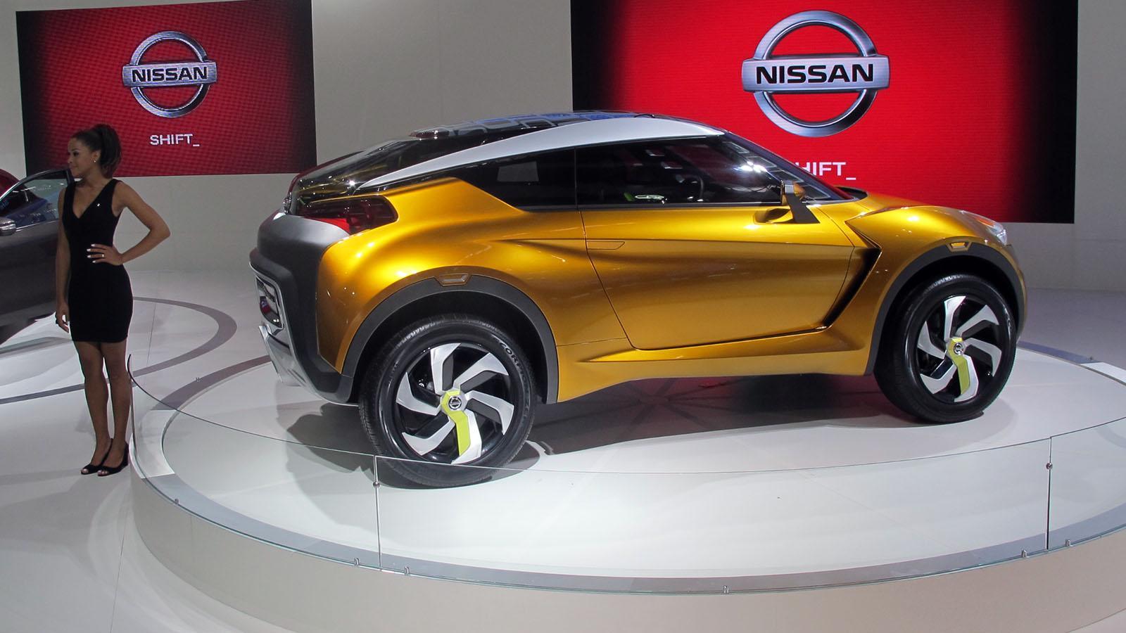 Nissan extrem concept se presenta en el saln de san pablo 2012 nissan concept extreme en el saln de san pablo vanachro Gallery