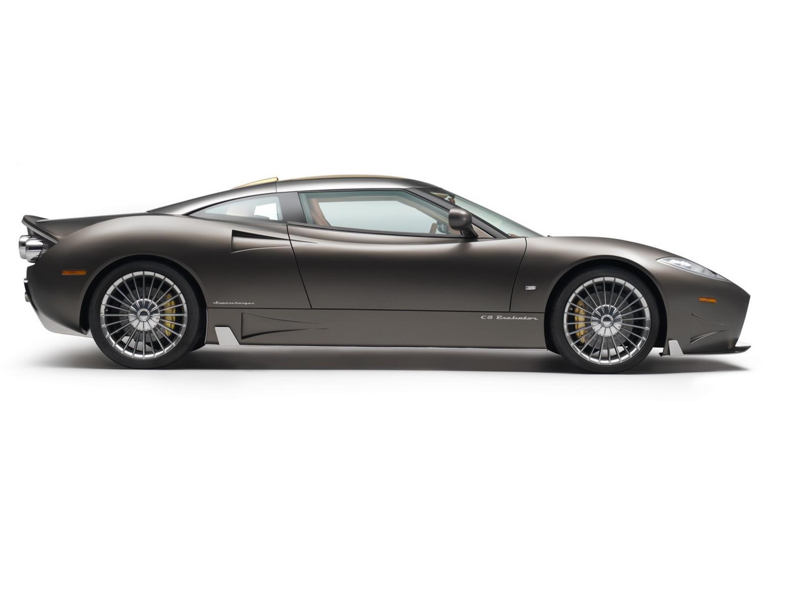 Spyker c8 preliator un regreso esperado - Cuanto gana un disenador de interiores ...
