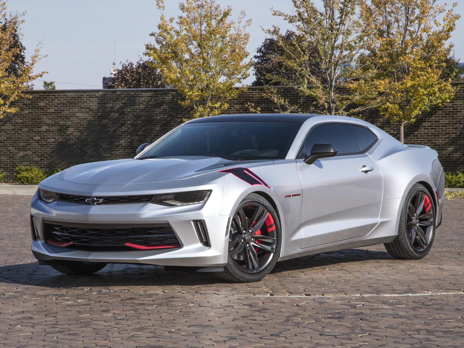 Chevrolet Camaro Red Line Serie Concept Un Muscle Car