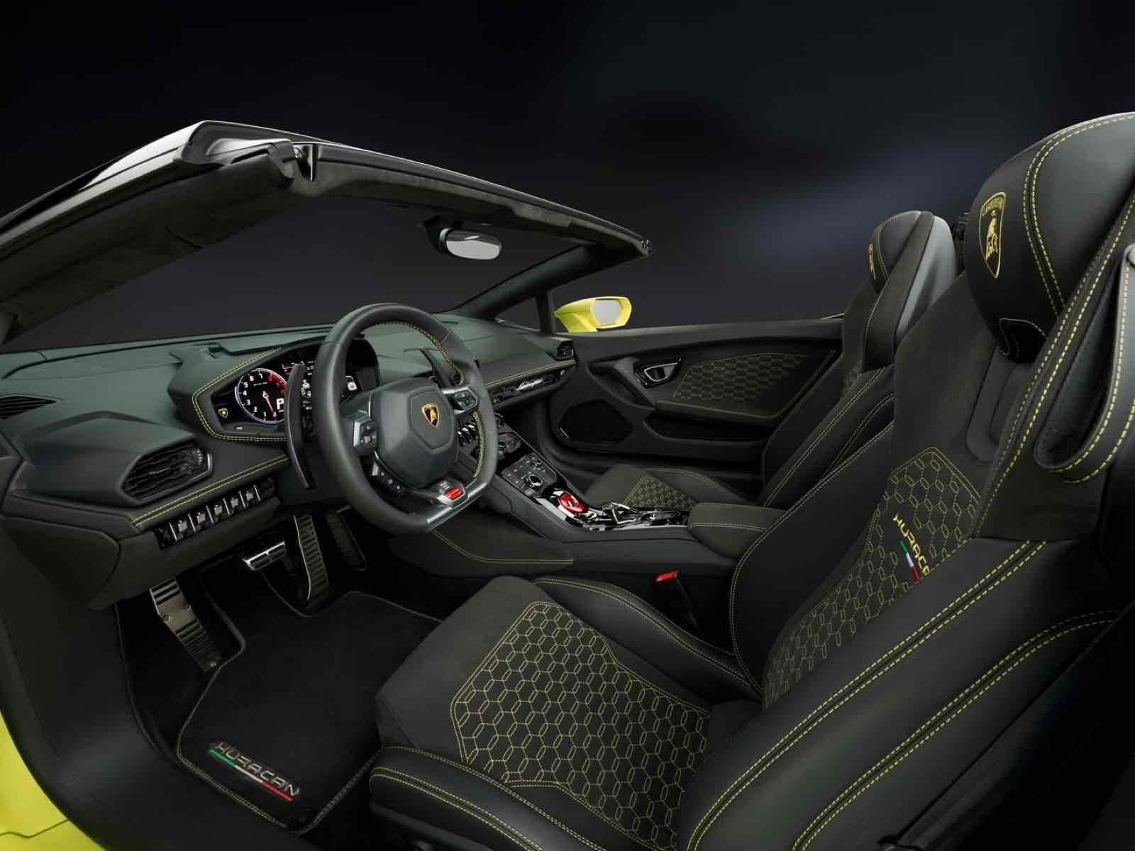 lamborghini hurac n lp 580 2 spyder ahora convertible. Black Bedroom Furniture Sets. Home Design Ideas