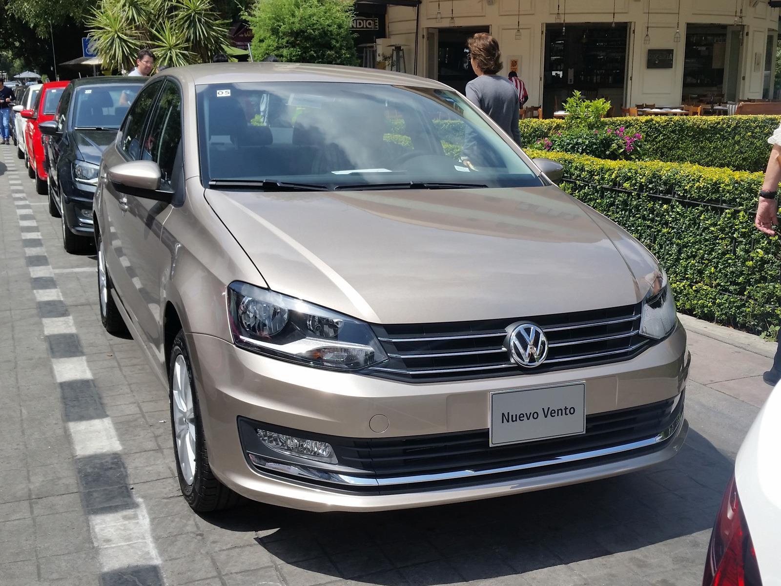 Volkswagen Nuevo Vento 2016 Se Presenta Autocosmos Com
