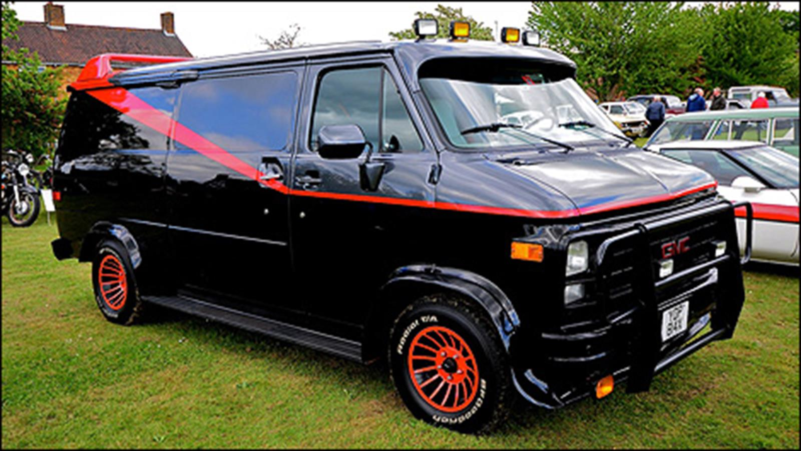 A team van for sale