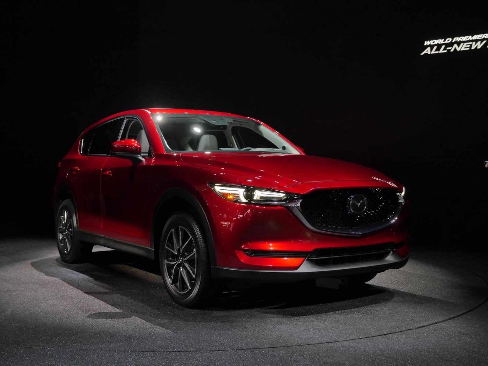 Auto Show De Los 193 Ngeles 2016 Mazda Cx 5 2017 Dise 241 O