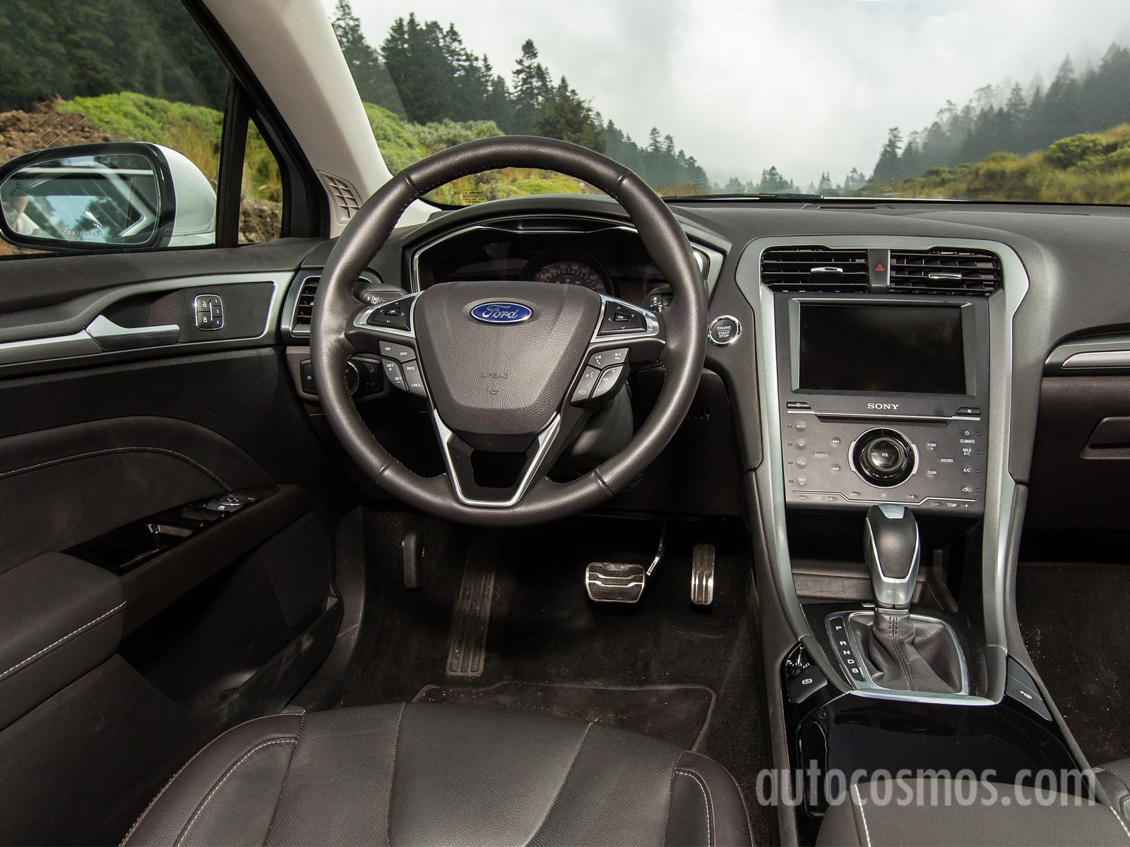 Ford fusion titanium 2013 a prueba for Nuevo fusion plus