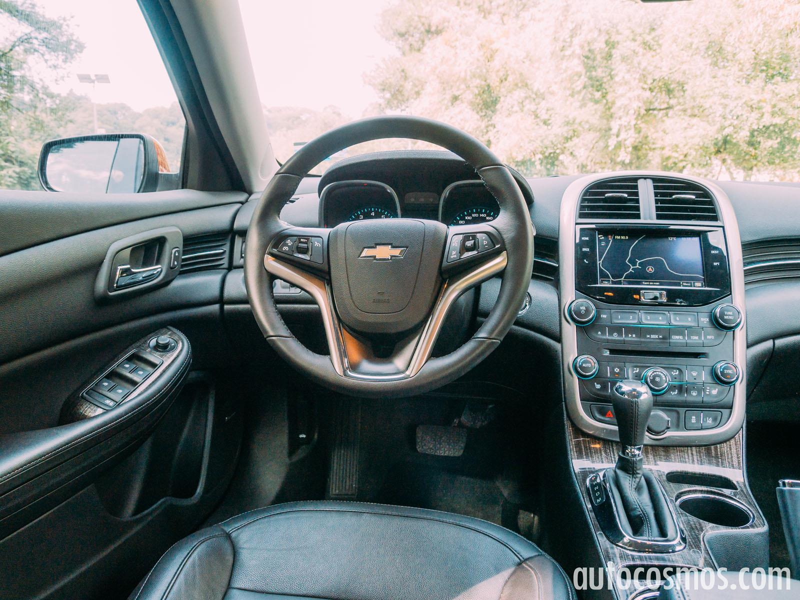 Chevrolet Malibu Turbo 2014 A Prueba Autocosmos Com
