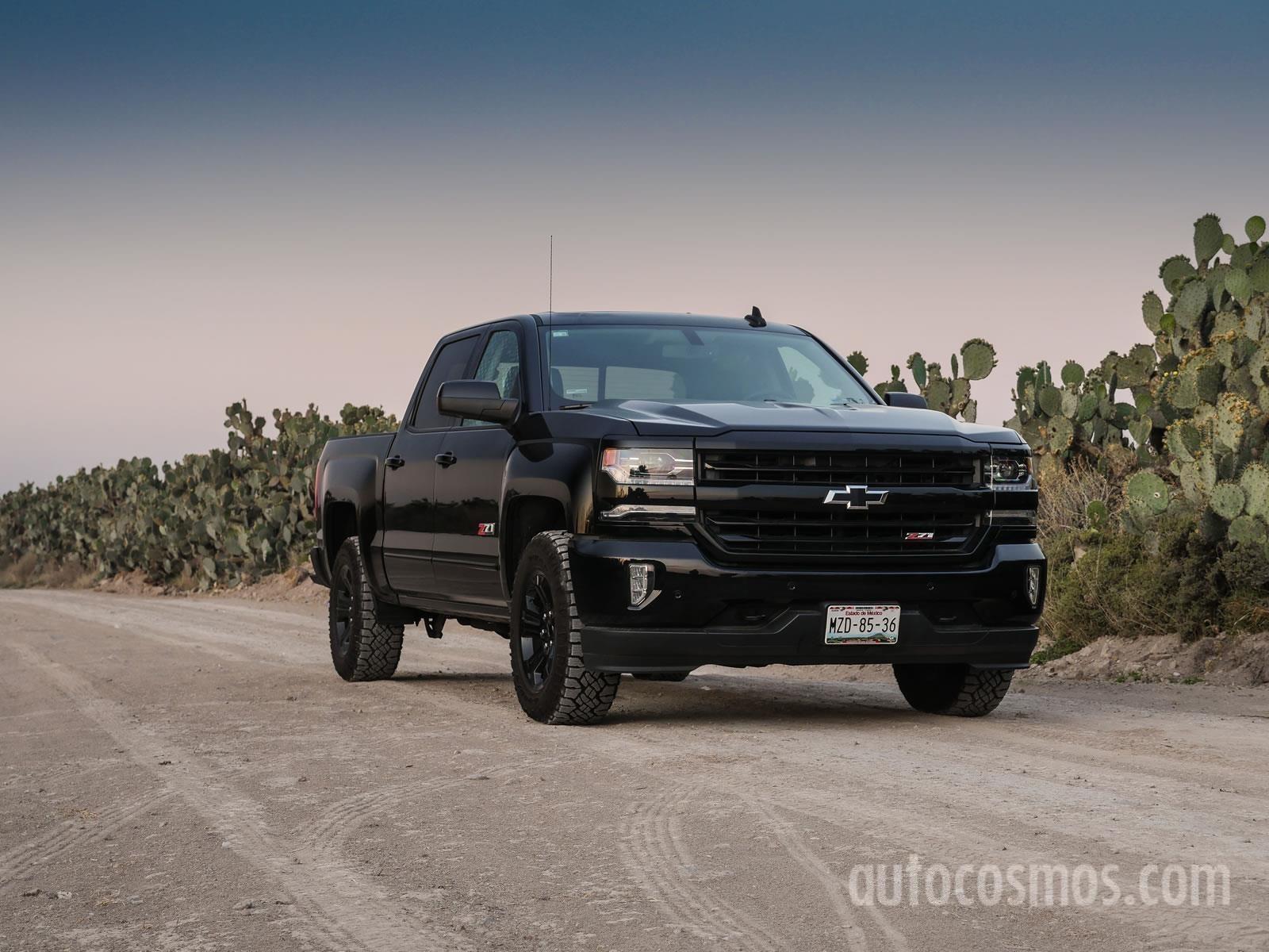Chevrolet Cheyenne Midnight Edition 2017 A Prueba