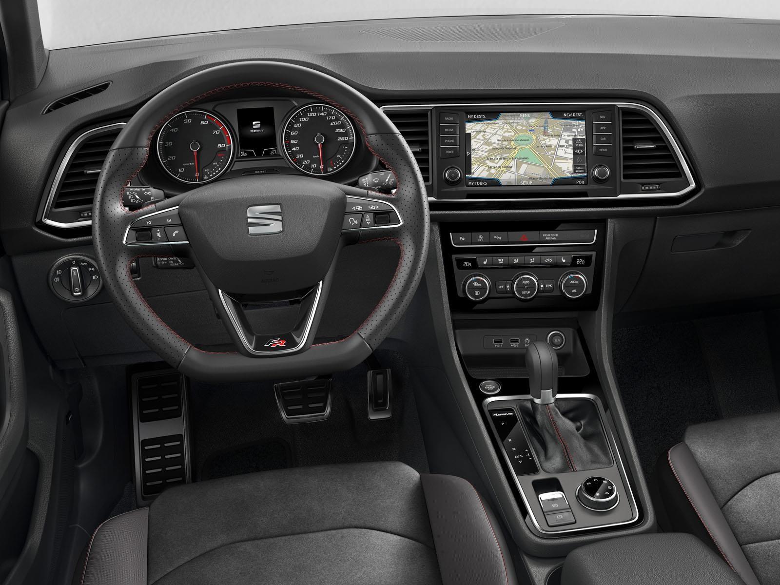 Seat Ateca Fr 2018 Se Prepara Autocosmos Com