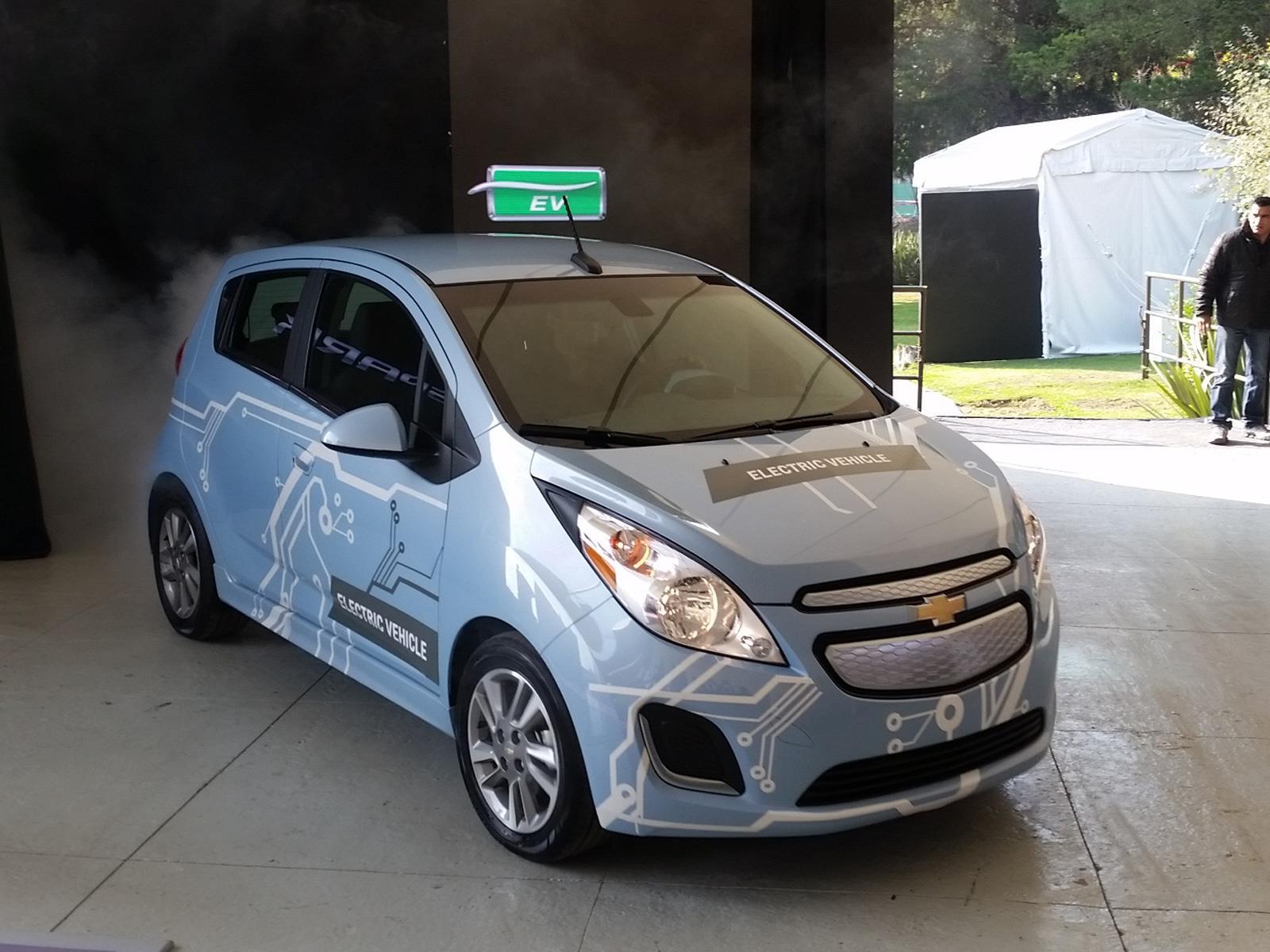 Chevrolet Spark eléctrico 2015 llega a México en $499,900 pesos ...