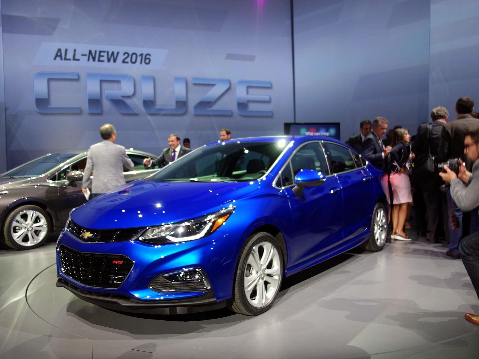 Chevrolet Cruze 2016, el sedán compacto se reinventa ...