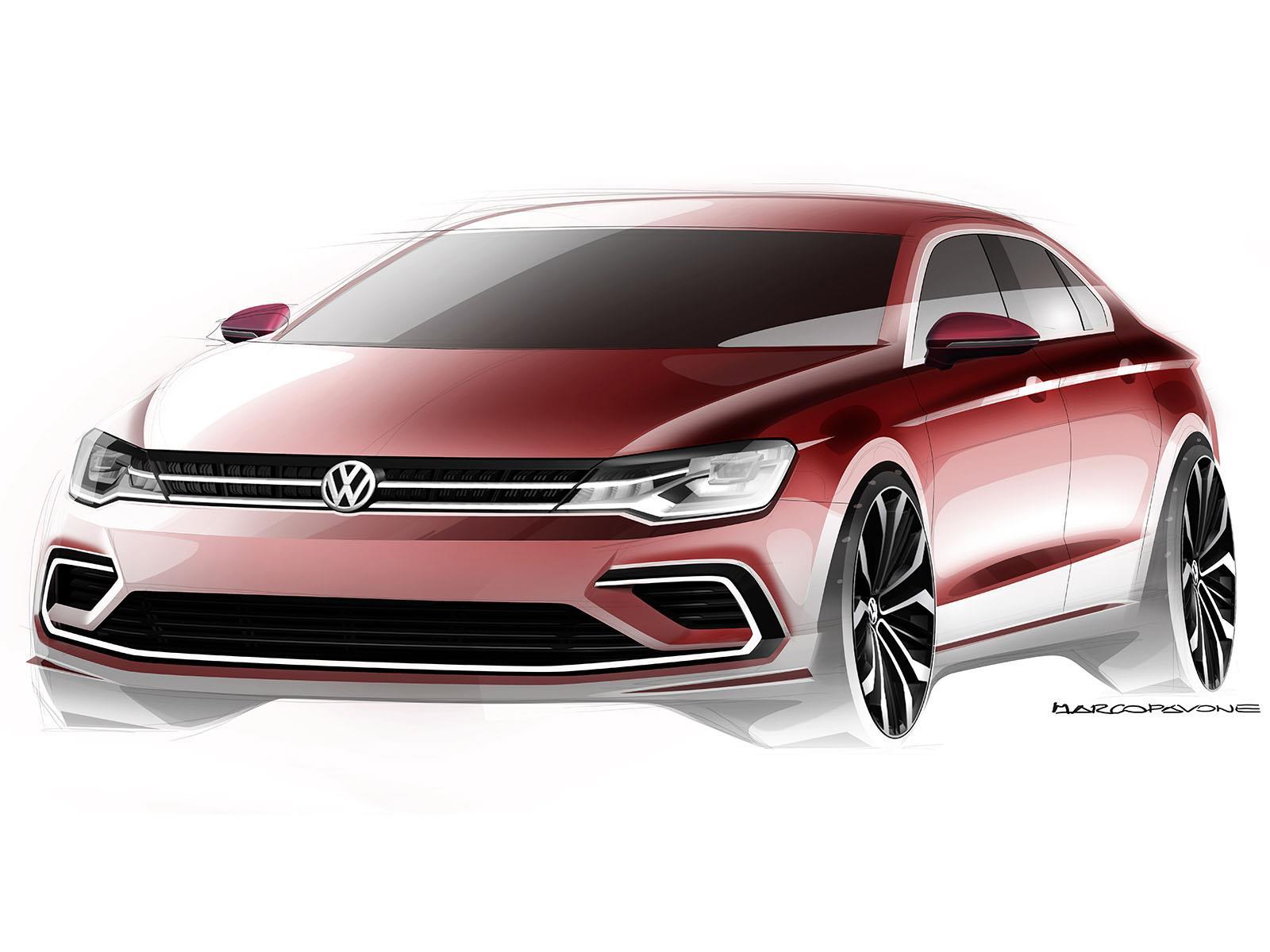 vw new midsize coupé
