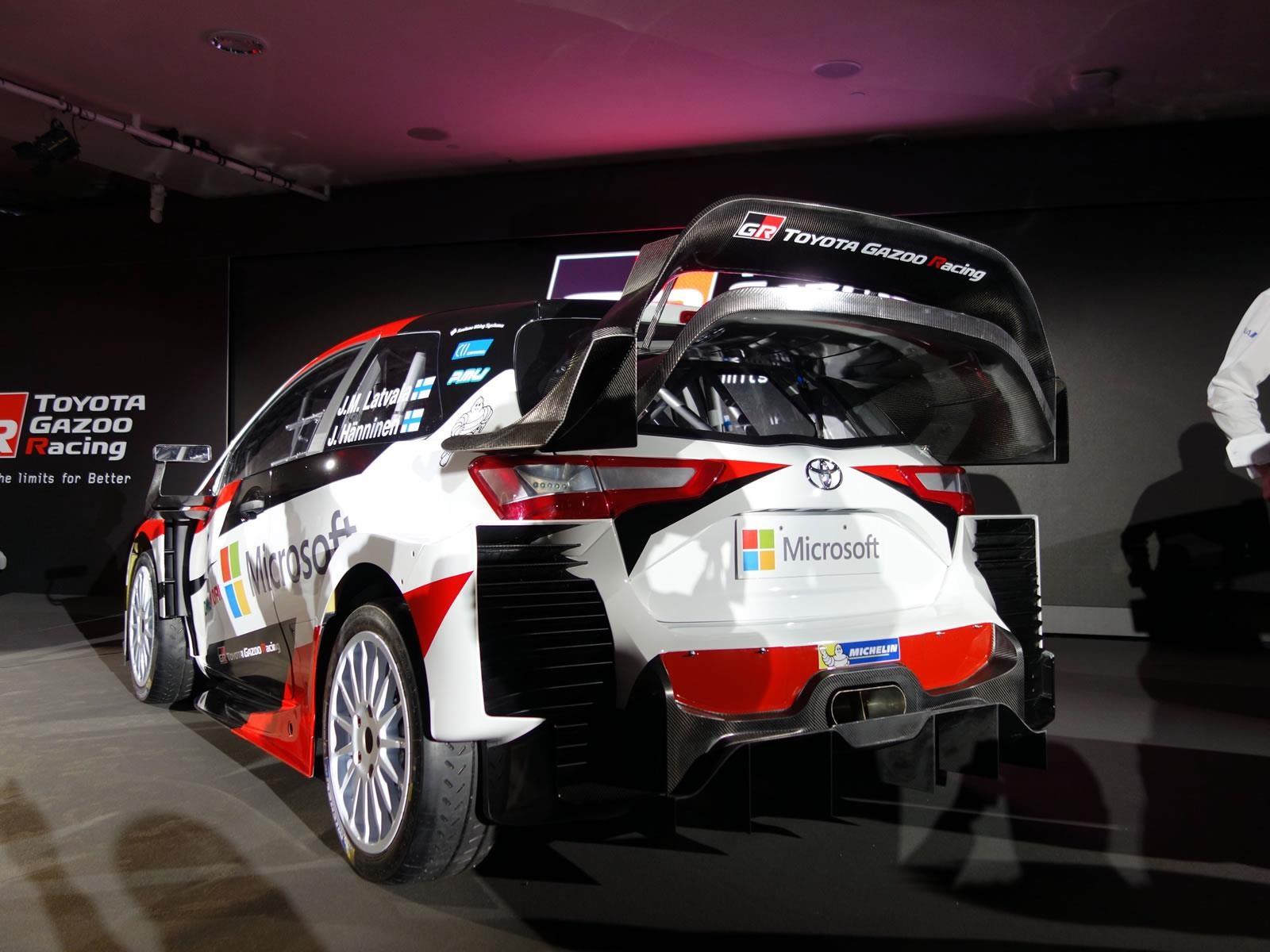 Toyota Yaris WRC 2017, el regreso al Rally Mundial - Autocosmos.com