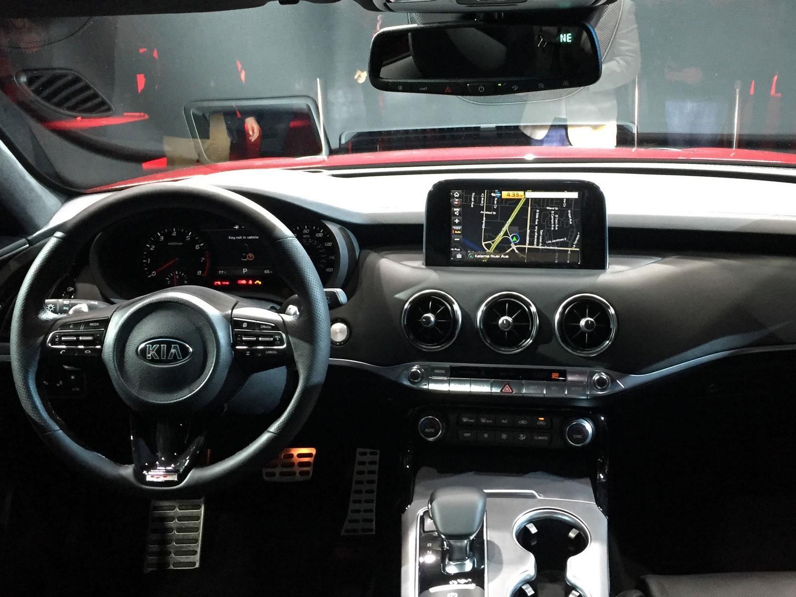 Auto Show De Detroit 2017 Kia Stinger 2018 Es El Auto