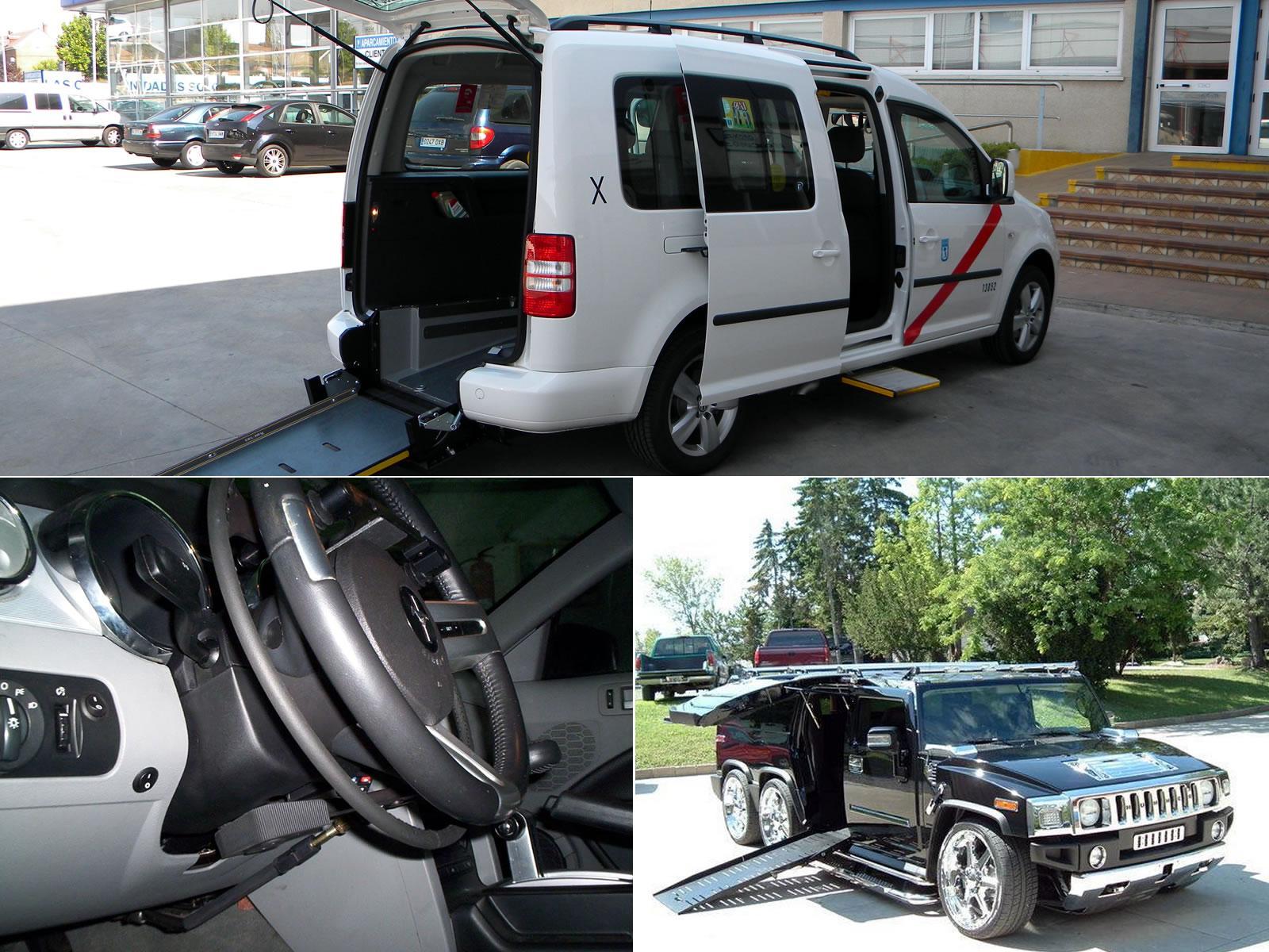 Vehículos adaptados para personas con discapacidad ...