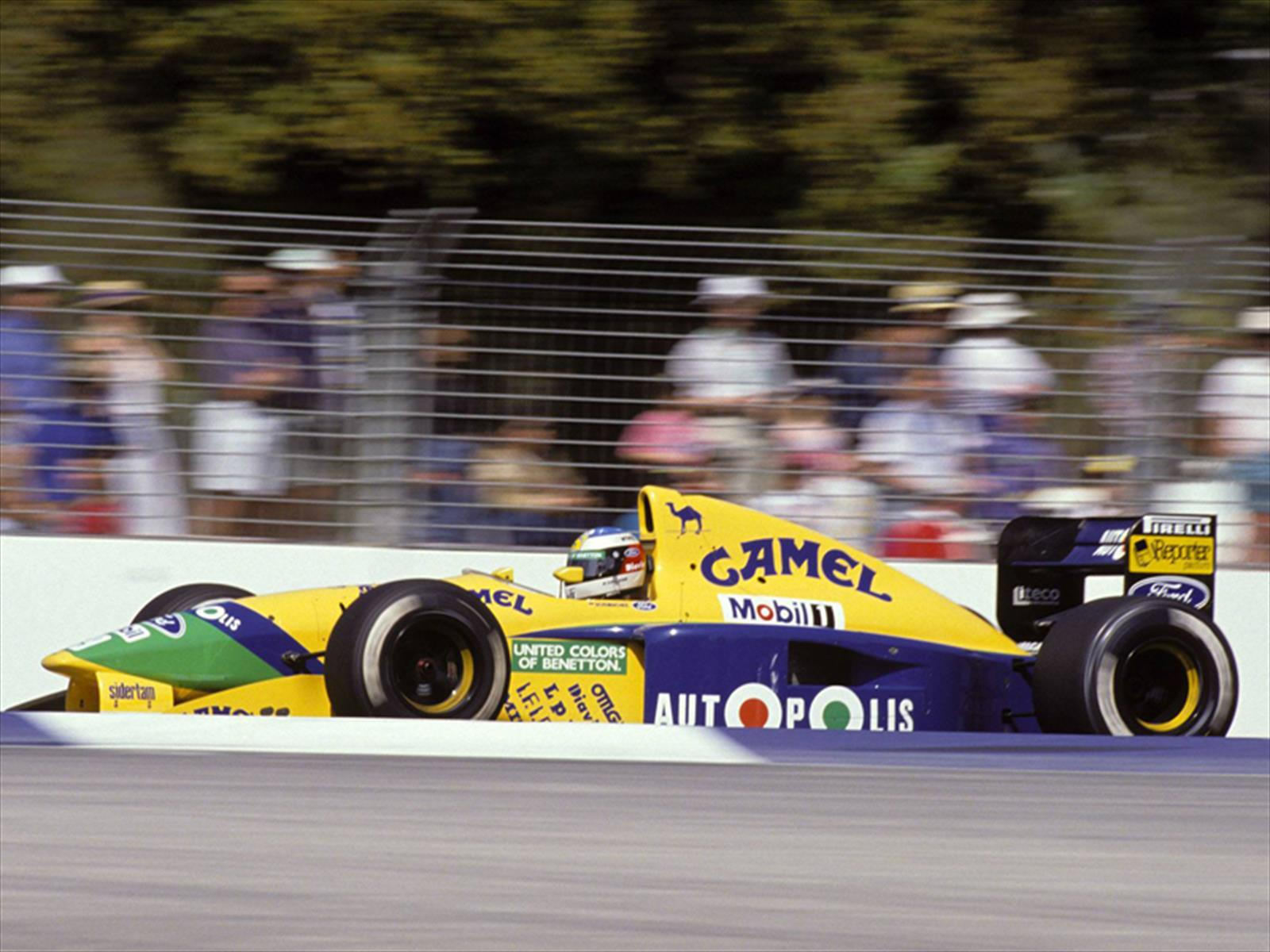 F1 benetton ex schumacher for Catalogo grand prix