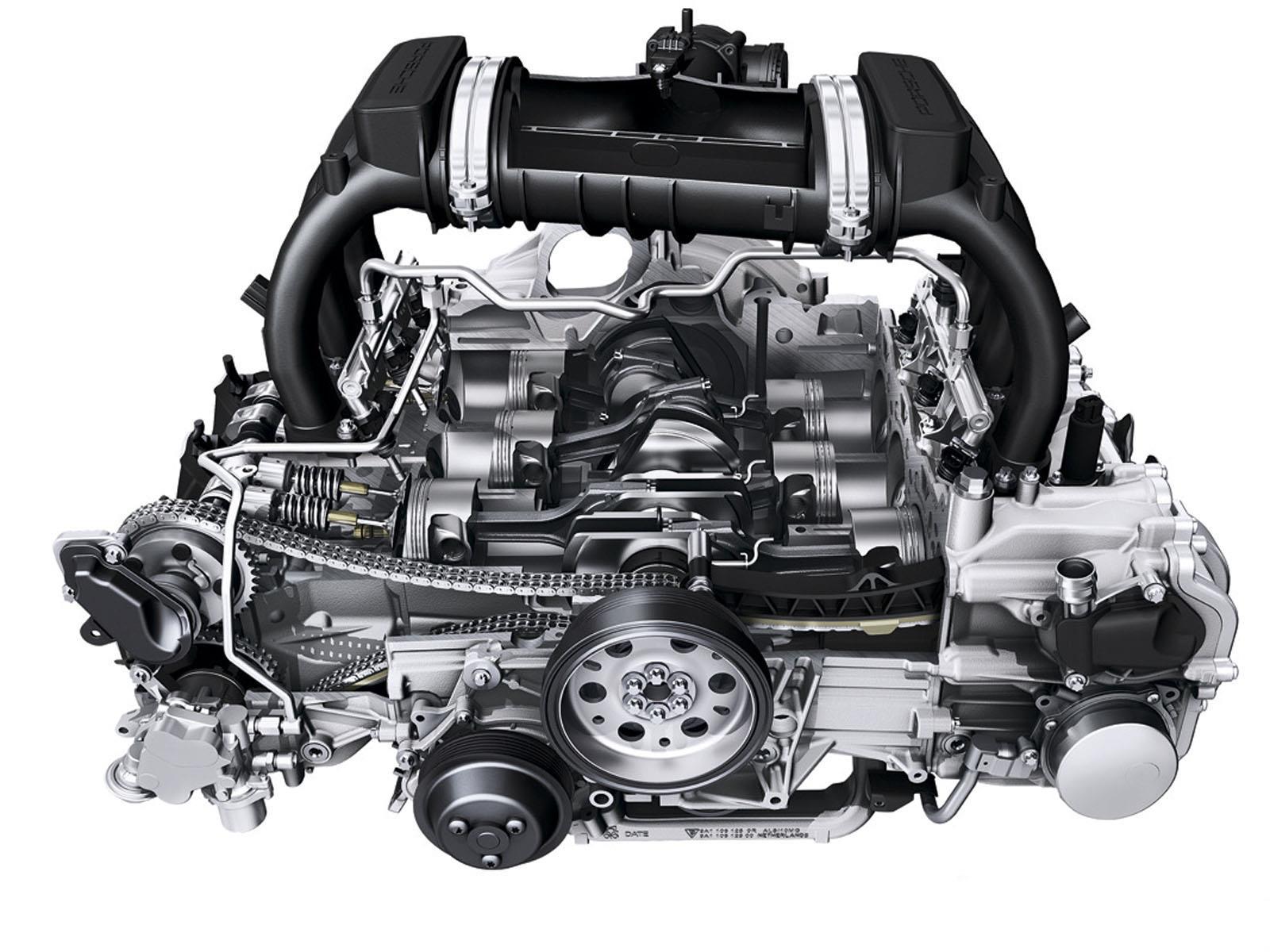 Motor de los autos usados