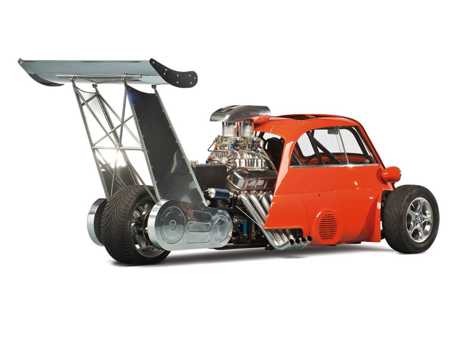Bmw Isetta V8 Dragster Diablo De La Velocidad Autocosmos Com