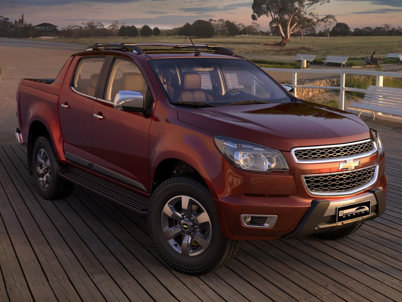 Tope Color Sal 243 N De Sao Paulo 2014 Chevrolet S10 High Country
