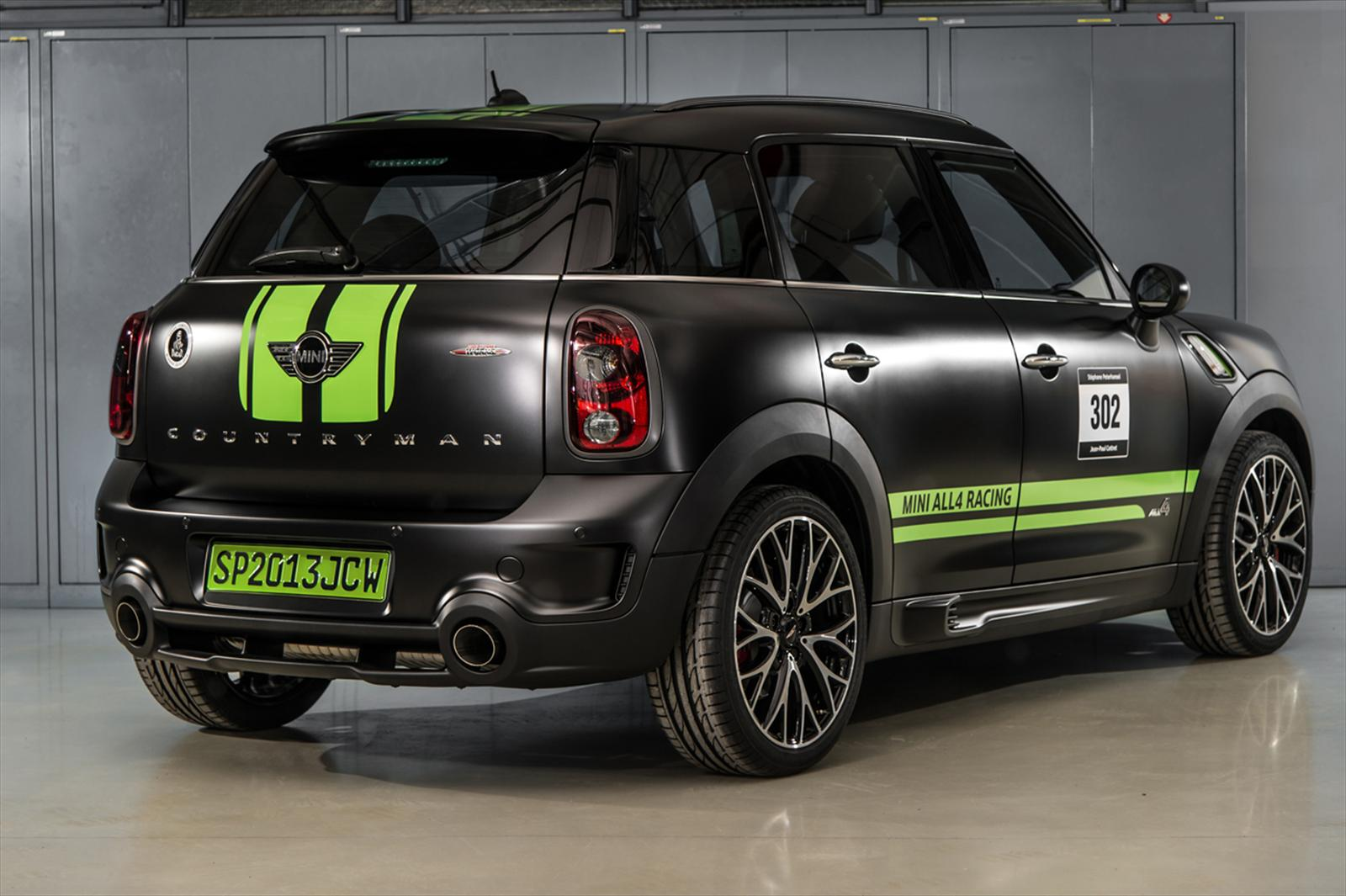 Sal n de ginebra 2013 mini john cooper works countryman for Salon 7 places dakar