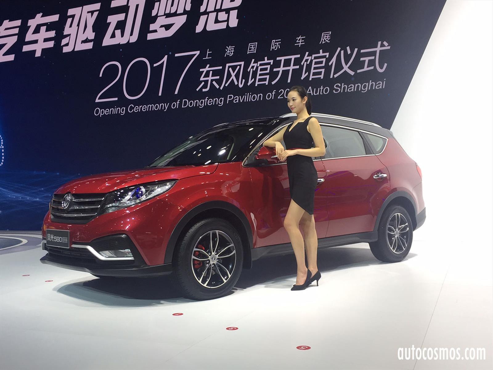 auto show de shanghai 2017 las chicas del sal n de shanghai 2017 noticias novedades y. Black Bedroom Furniture Sets. Home Design Ideas
