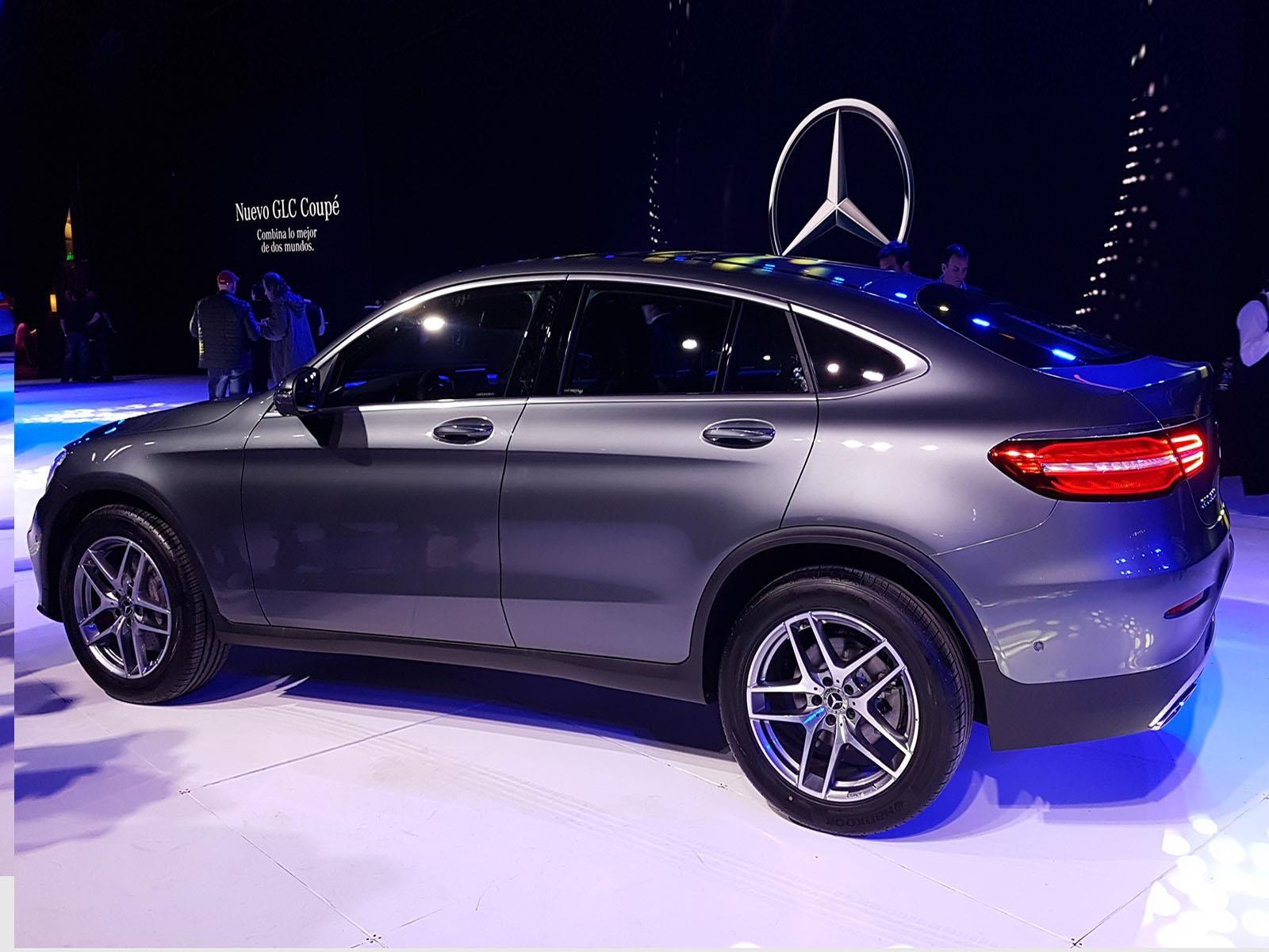 Nuevo mercedes benz glc coup se lanza en argentina for Mercedes benz fayetteville ar