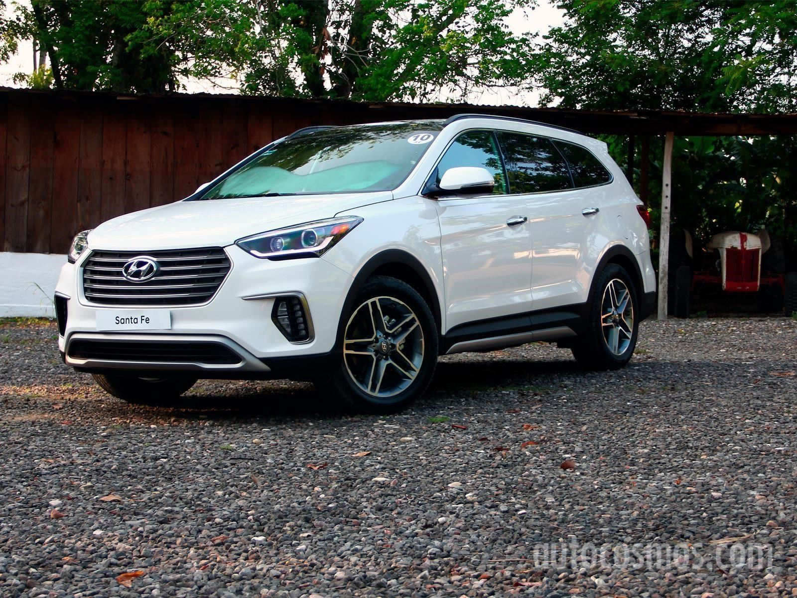 Hyundai Santa Fe 2018 Se Presenta Autocosmos Com