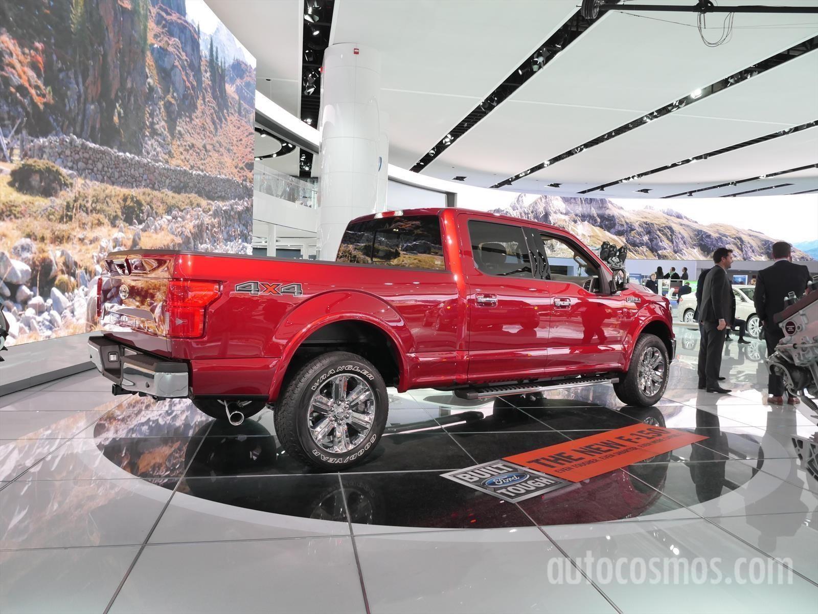 Auto Show De Detroit 2017 Ford Lobo 2018 Noticias Novedades Y Presentaciones Autocosmos Com