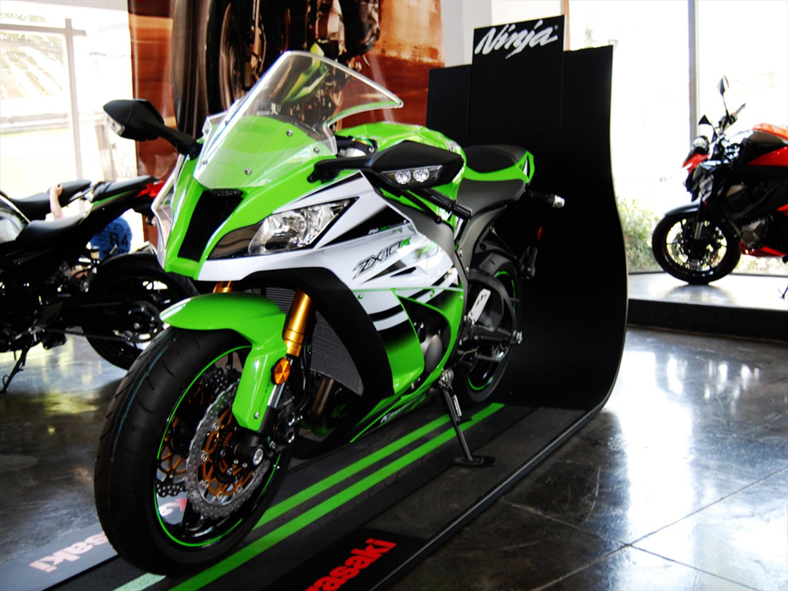 Kawasaki Ninja 30 – Idea di immagine del motociclo