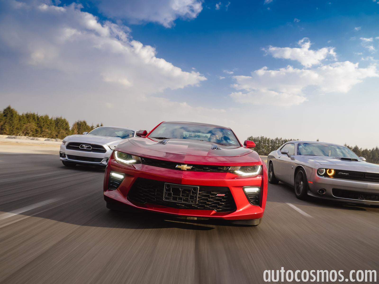 Comparativa Ford Mustang Vs Chevrolet Camaro Vs Dodge