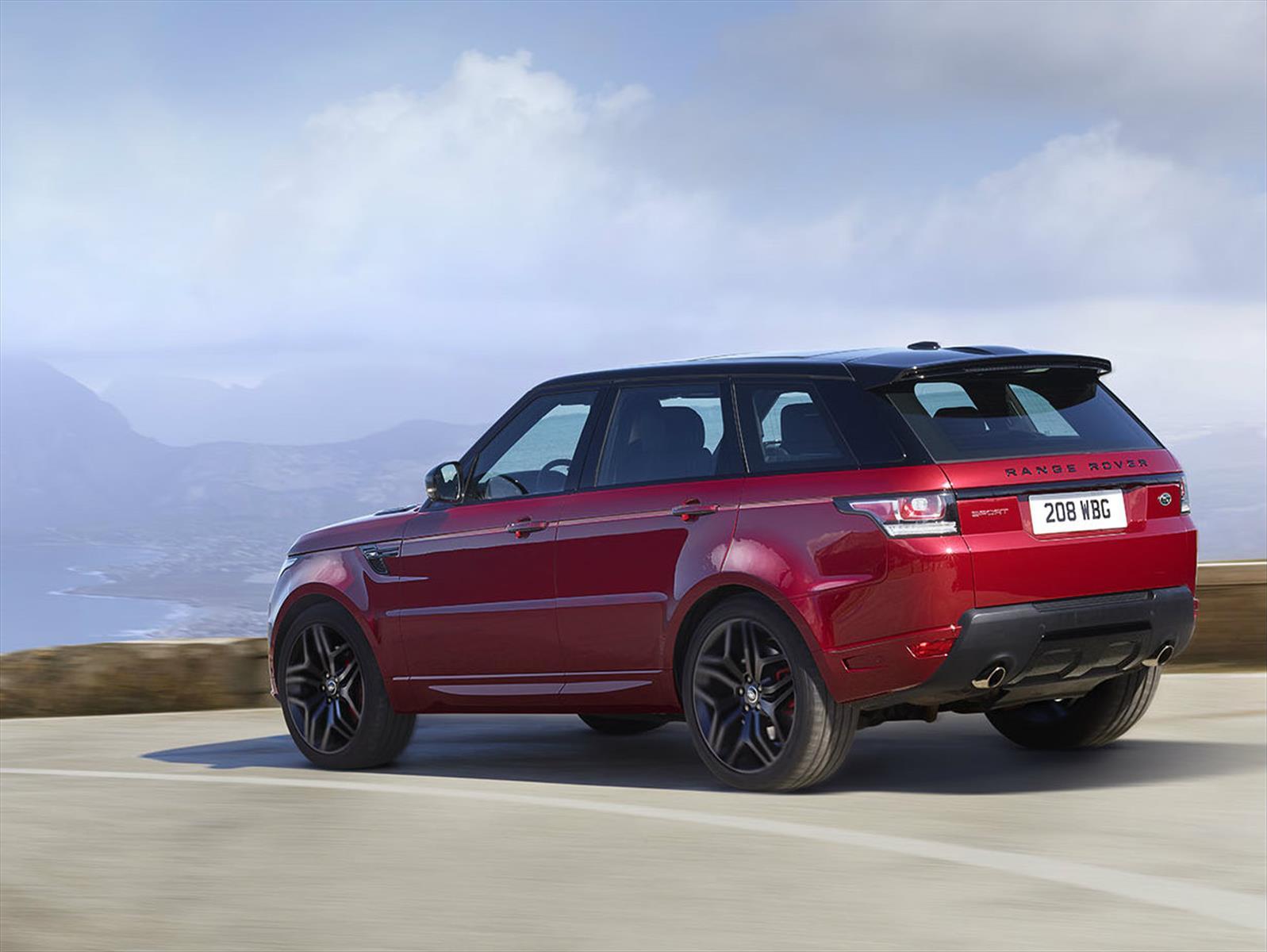 Auto Show De Nueva York 2015 Range Rover Sport Hst 2016