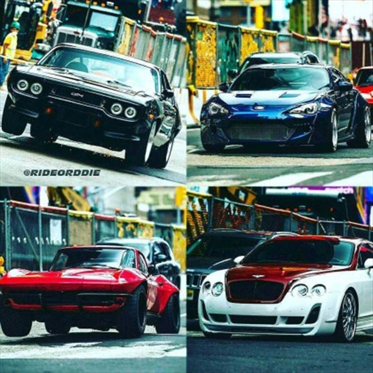 Estos Son Los Autos De R 225 Pidos Y Furiosos 8 Autocosmos Com