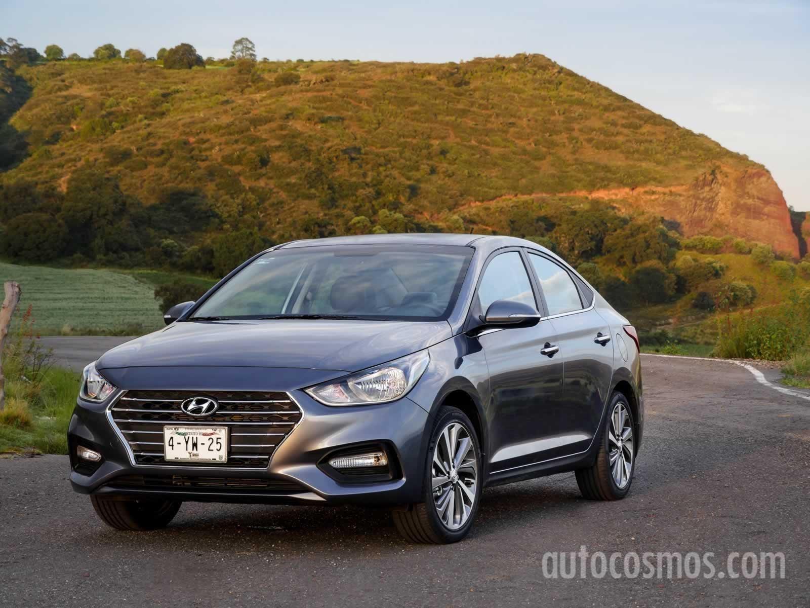 Hyundai Accent 2018 A Prueba Autocosmos Com