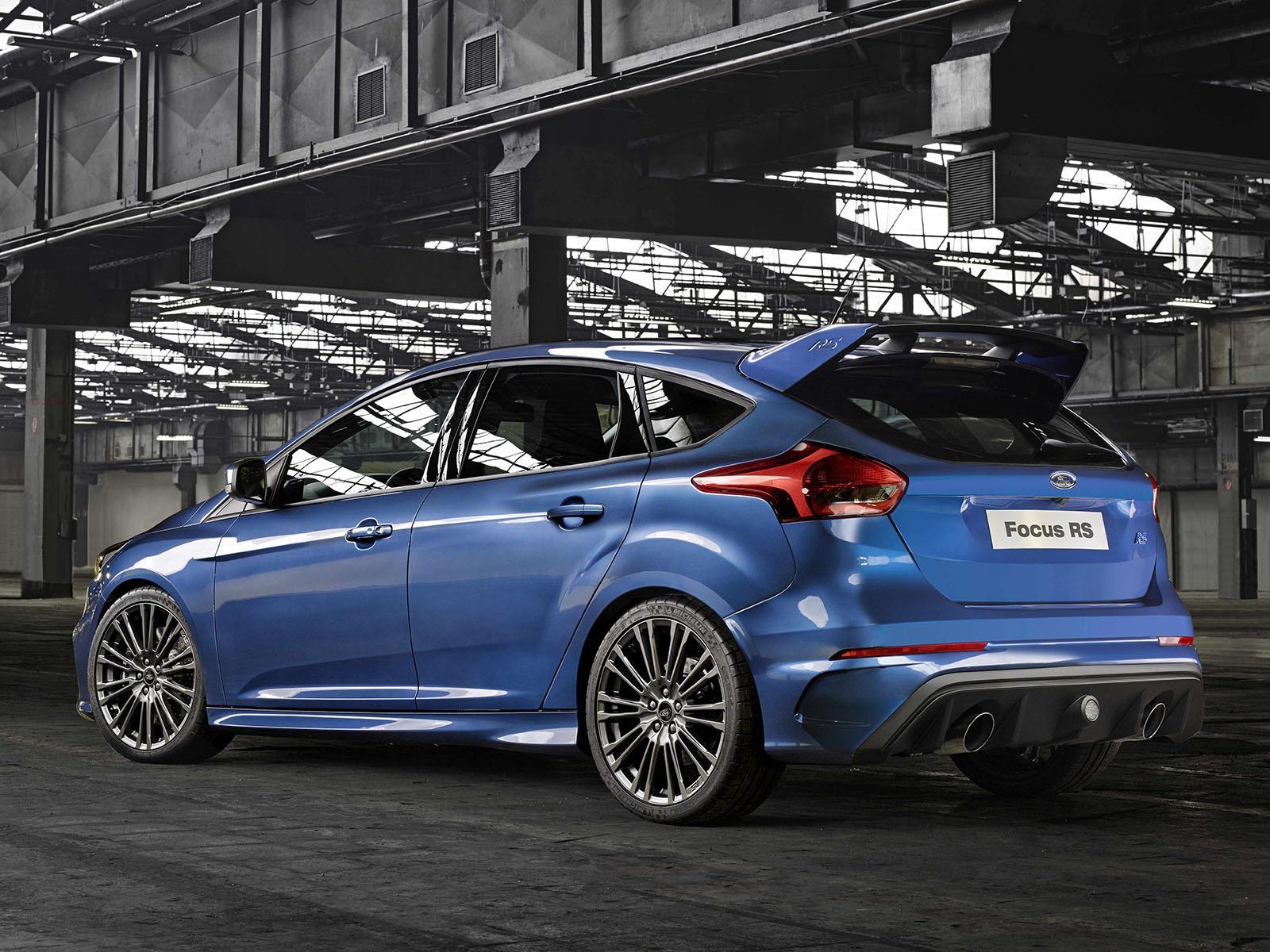 Ford Focus RS 2016 llega con más de 300 hp - Autocosmos.com
