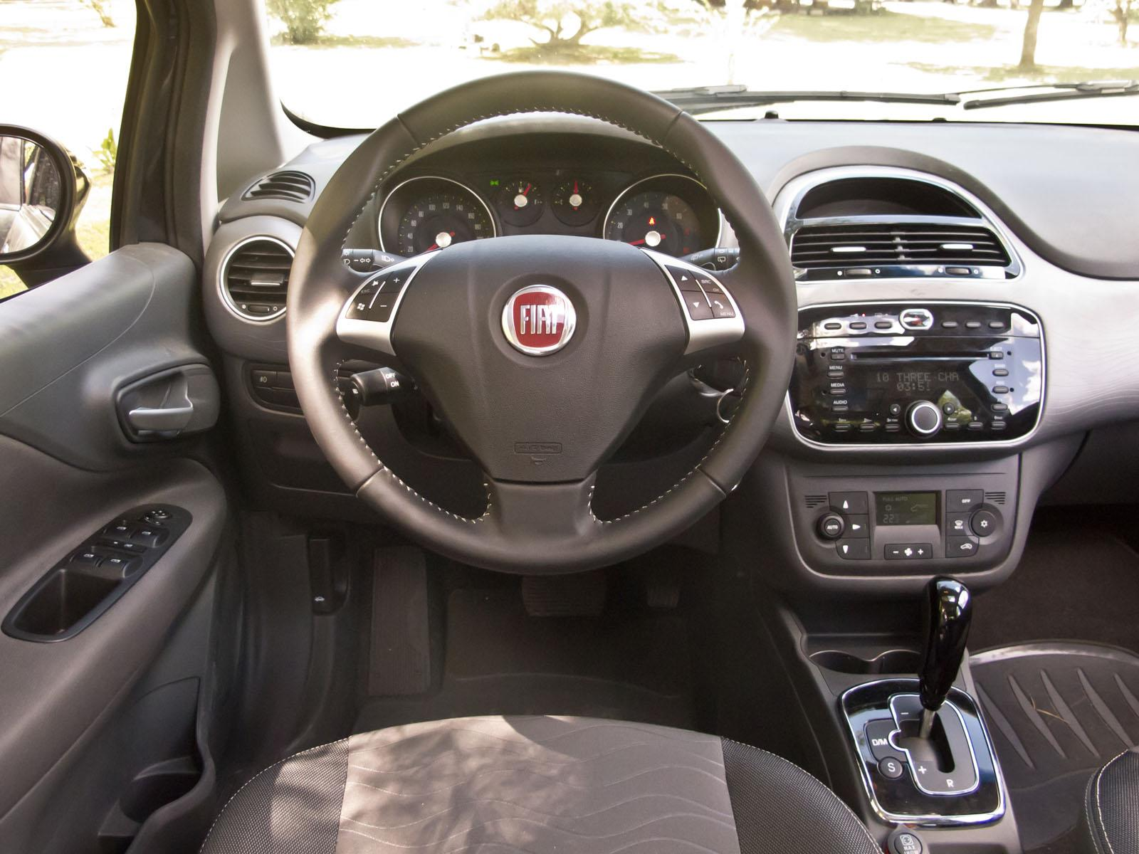 photo collection interior del fiat punto