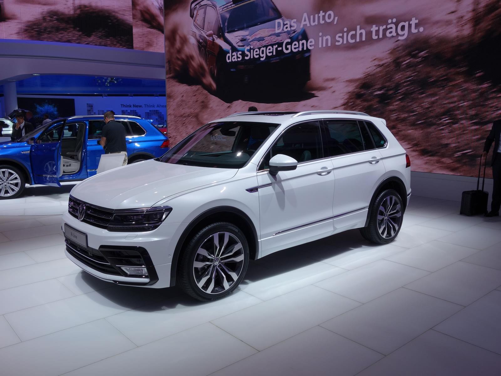 Sale la primera carrocería del Volkswagen Tiguan 2017 en ...