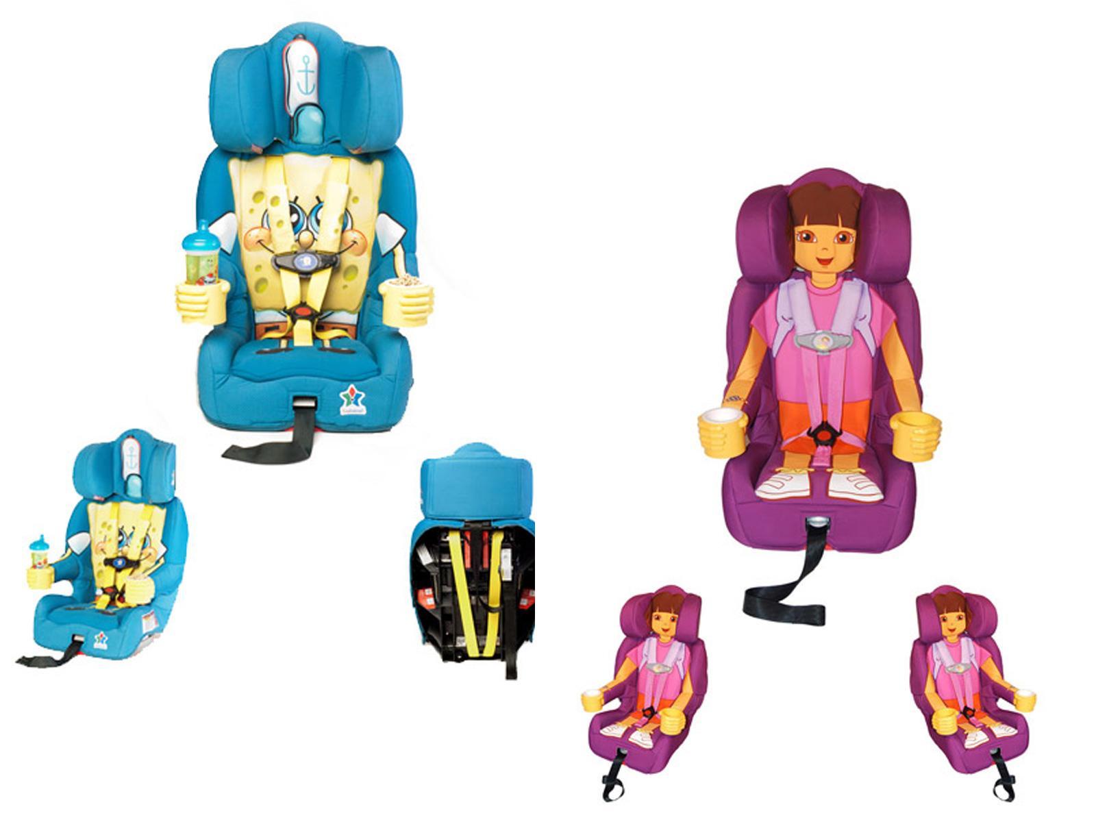 Sillas de seguridad para ni os estilo caricaturesco for Sillas de seguridad para ninos