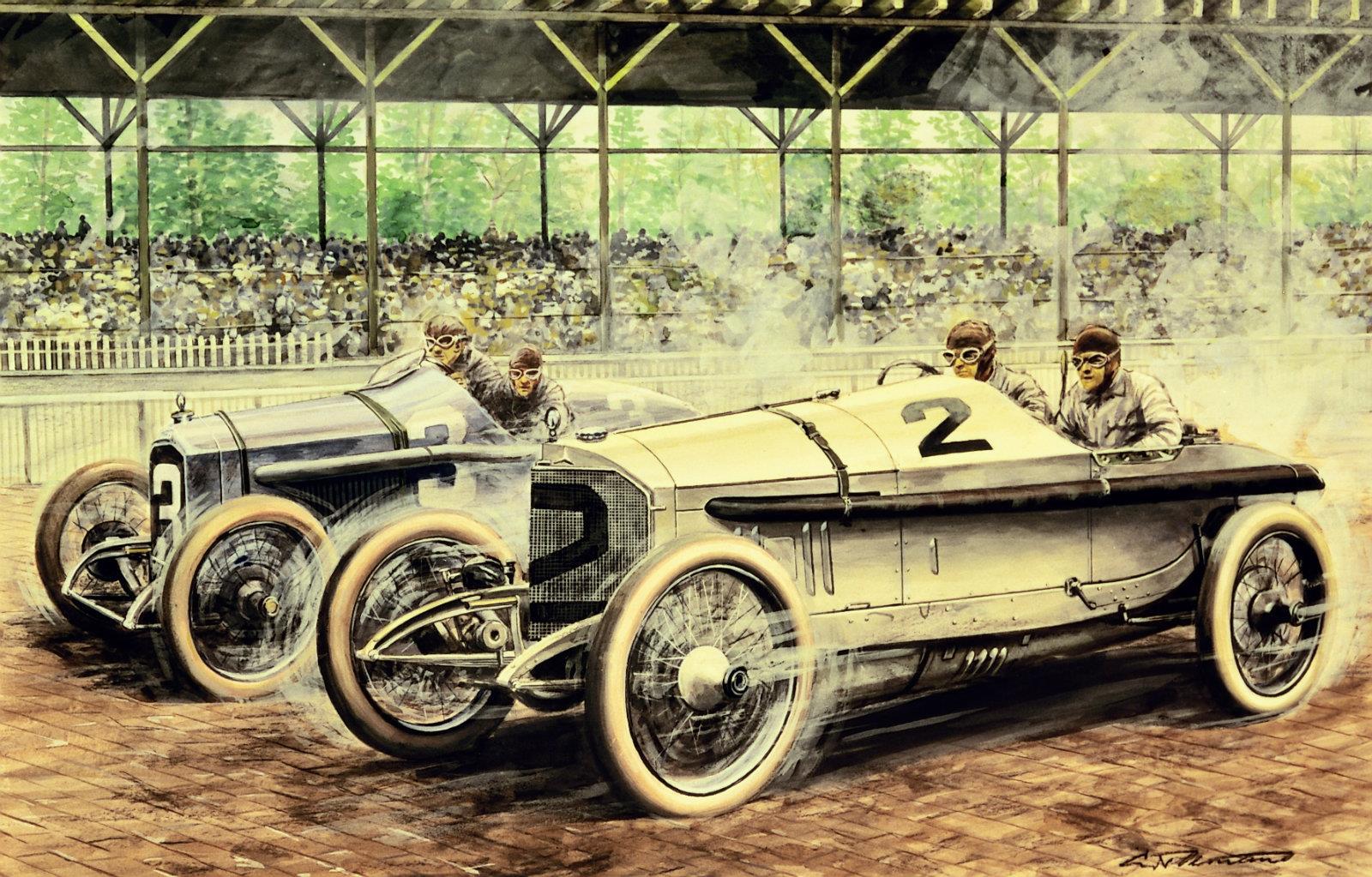 Mercedes benz grand prix 1915 for Catalogo grand prix