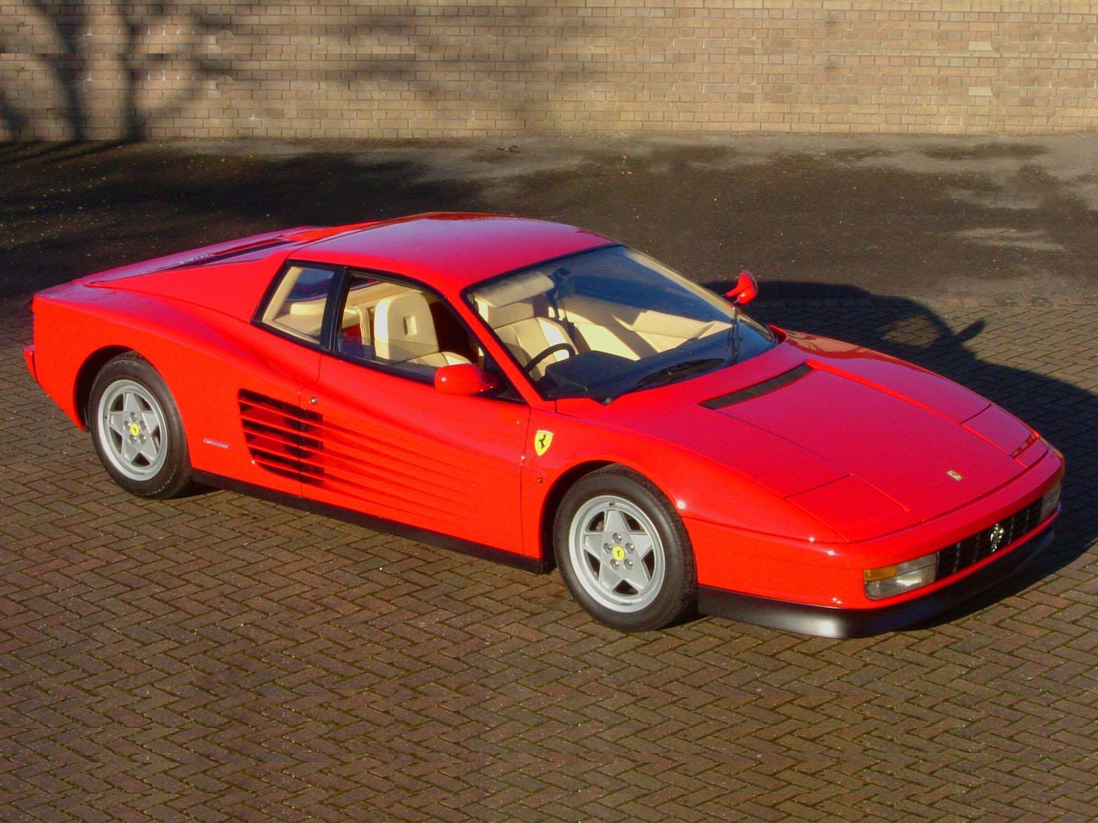 Cl 225 Sicos Ferrari Testarossa Autocosmos Com