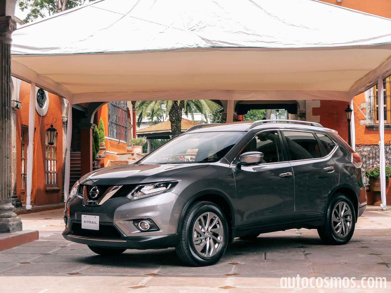 nissan x trail 2015 a prueba. Black Bedroom Furniture Sets. Home Design Ideas