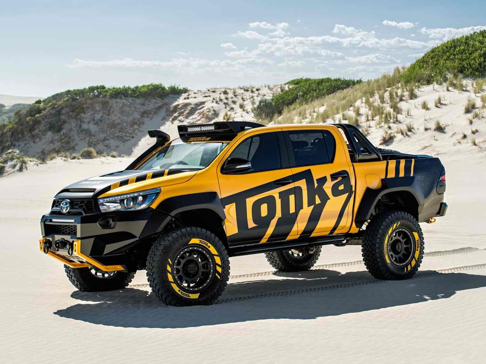 Video toyota hilux tonka concept la pick up que no es de juguete
