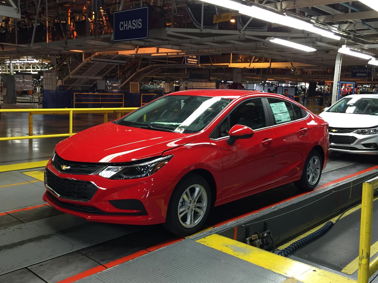 Chevrolet Cruze 2017 primer contacto en México ...