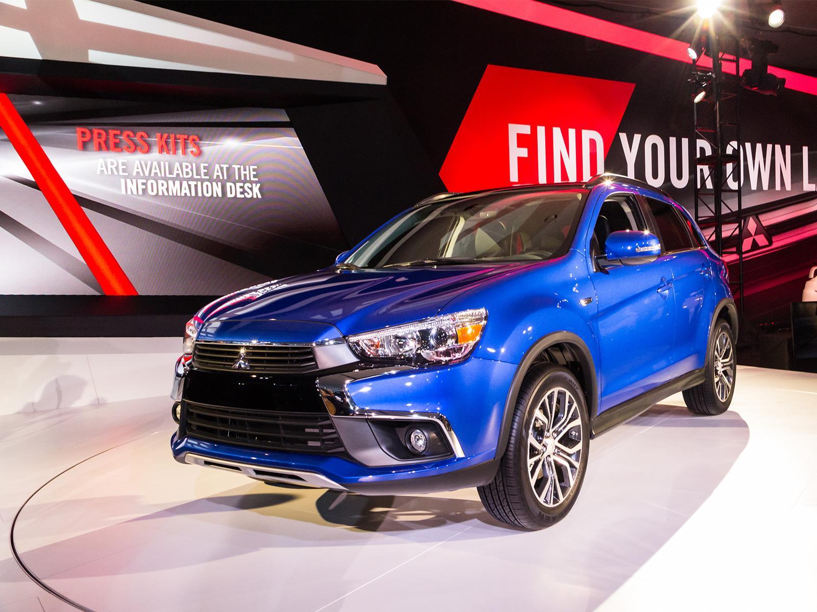 Auto Show de Los Ángeles 2015 - Mitsubishi ASX 2017 se presenta - Noticias, novedades y ...