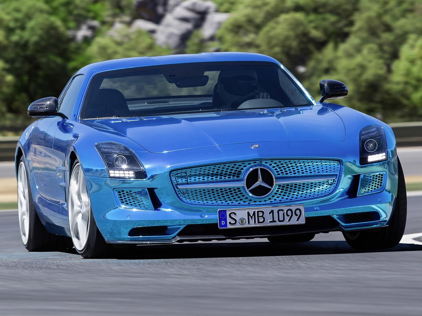 Top 10 mercedes benz sls amg electric drive for Mercedes benz electric sls